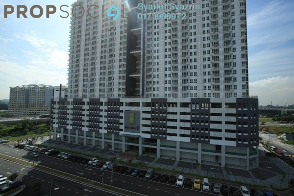 For Sale Serviced Residence at Menara U, Shah Alam Leasehold Unfurnished 2R/1B 385k