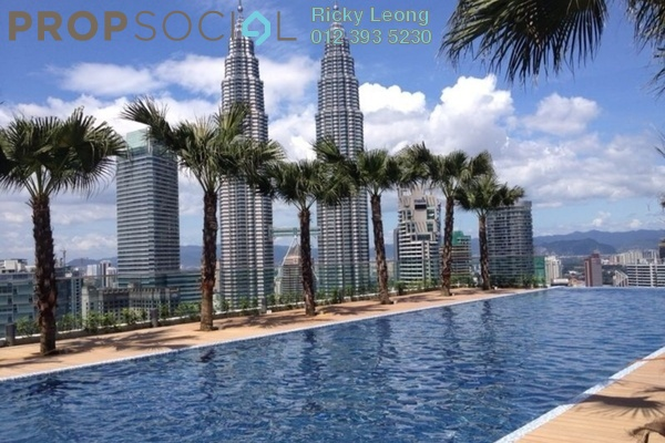 For Sale Condominium at Quadro Residences, KLCC Freehold Semi Furnished 3R/2B 2.89m