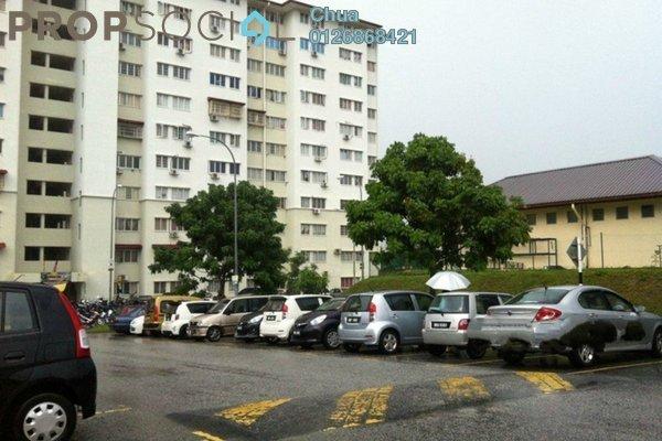 For Sale Apartment at Angsana Apartment, Bandar Mahkota Cheras Freehold Semi Furnished 4R/3B 268k