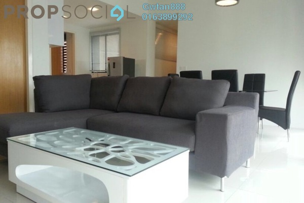 For Rent Condominium at Setia Sky Residences, KLCC Freehold Fully Furnished 2R/3B 3k