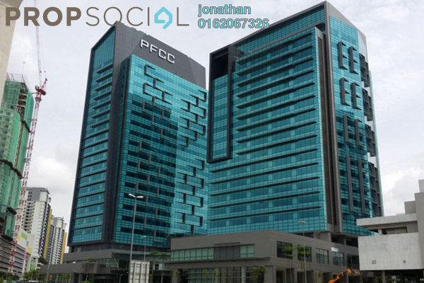 For Rent Office at PFCC, Bandar Puteri Puchong Freehold Unfurnished 0R/0B 31k