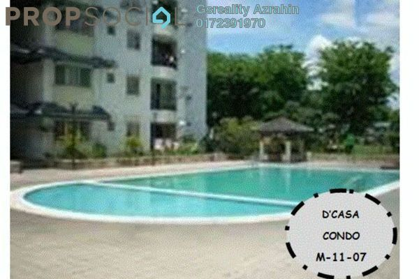 For Sale Condominium at D'casa Condominium, Ampang Leasehold Fully Furnished 3R/2B 370k