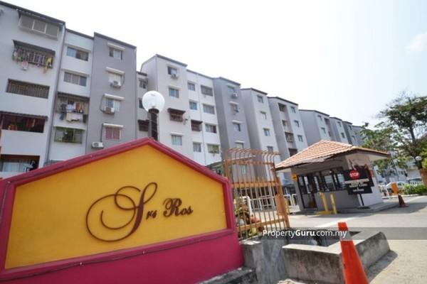 For Rent Apartment at Sri Ros, Kajang Freehold Semi Furnished 3R/2B 850translationmissing:en.pricing.unit