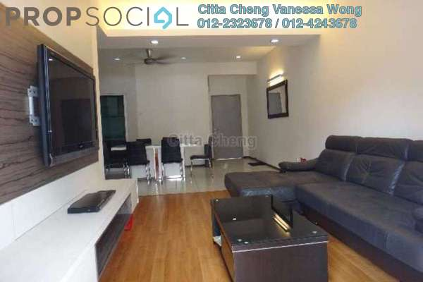 For Rent Condominium at Rosvilla, Segambut Freehold Fully Furnished 3R/2B 2.3k