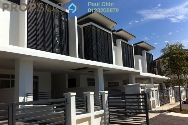 For Sale Terrace at Emerald West, Rawang Freehold Unfurnished 4R/4B 970k