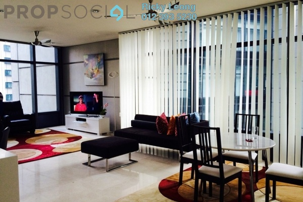 For Sale Condominium at The Troika, KLCC Freehold Semi Furnished 3R/3B 4.07m