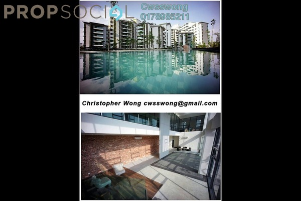 For Sale Condominium at Serin Residency, Cyberjaya Freehold Unfurnished 3R/2B 470Ribu