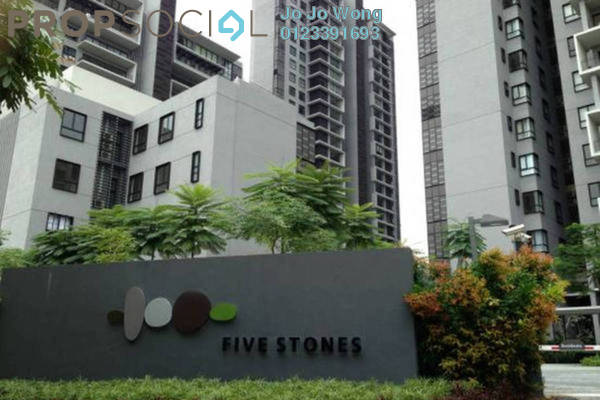 For Rent Condominium at Five Stones, Petaling Jaya Freehold Fully Furnished 4R/4B 6.5k