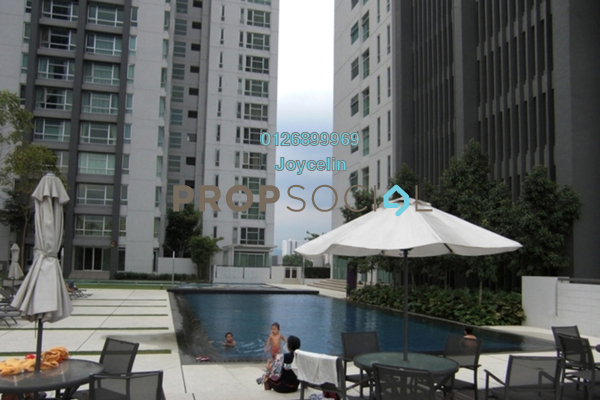 For Sale Condominium at The Saffron, Sentul Freehold Semi Furnished 3R/2B 680k