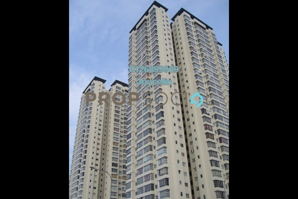For Sale Condominium at The Tamarind, Sentul Freehold Unfurnished 4R/3B 690k