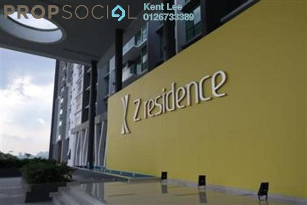 For Rent Condominium at The Z Residence, Bukit Jalil Freehold Fully Furnished 2R/2B 1.75k