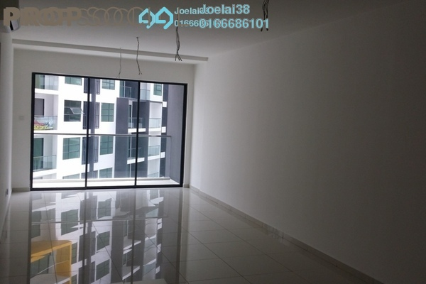 For Rent Condominium at Zeva, Bandar Putra Permai Leasehold Semi Furnished 2R/2B 1.3k