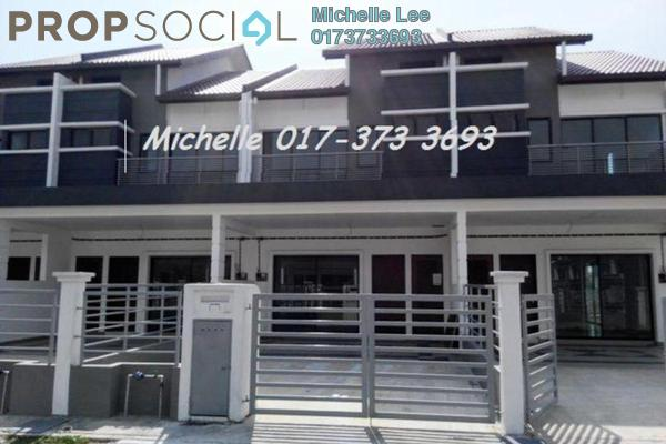 For Sale Terrace at Bandar Puteri Klang, Klang Freehold Unfurnished 4R/3B 613k