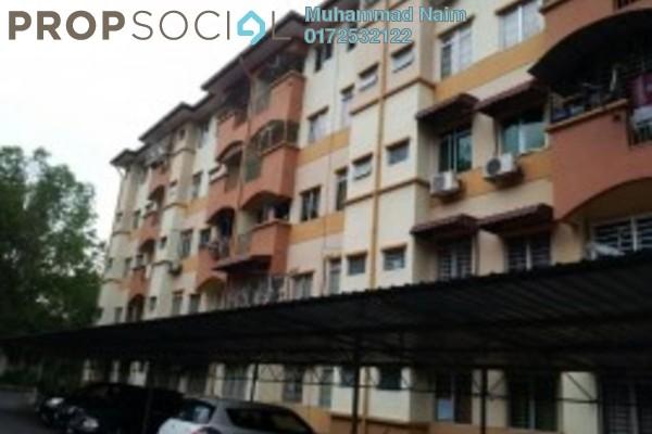 For Sale Apartment at Taman Cheras Intan, Batu 9 Cheras Freehold Semi Furnished 3R/2B 278k