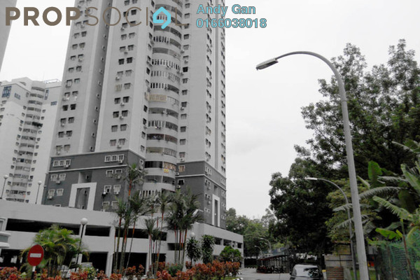 For Rent Condominium at Bukit Pandan 2, Pandan Perdana Freehold Fully Furnished 2R/2B 1.35k