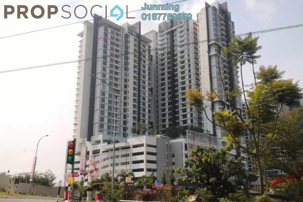 For Rent Condominium at You City, Batu 9 Cheras Freehold Semi Furnished 33R/2B 1.3k