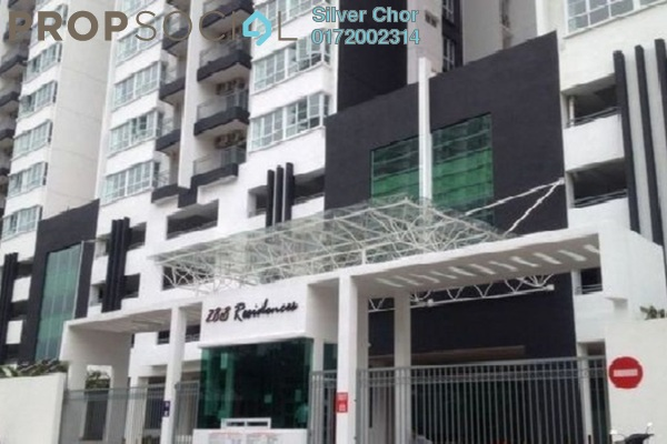 For Rent Condominium at 288 Residences, Kuchai Lama Freehold Semi Furnished 4R/4B 2.2k