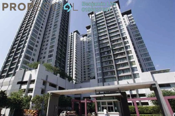 For Sale Condominium at The Saffron, Sentul Freehold Semi Furnished 3R/3B 1.25m