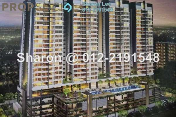 For Sale Condominium at 288 Residences, Kuchai Lama Freehold Semi Furnished 3R/2B 680k
