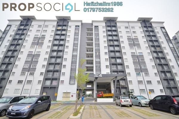 For Sale Apartment at Seri Intan Apartment, Setia Alam Freehold Unfurnished 3R/2B 288k