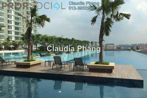 For Rent Condominium at Le Yuan Residence, Kuchai Lama Freehold Semi Furnished 2R/2B 2.3k