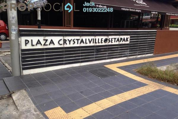 For Rent Office at Plaza Crystalville, Setapak Leasehold Unfurnished 0R/2B 2k