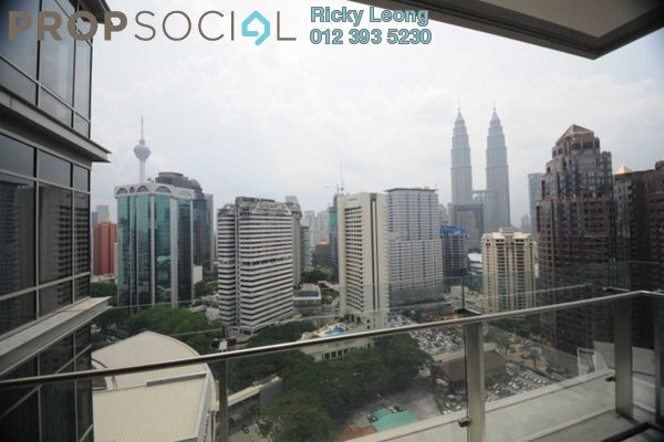 For Rent Condominium at Pavilion Residences, Bukit Bintang Leasehold Fully Furnished 4R/4B 21.0千