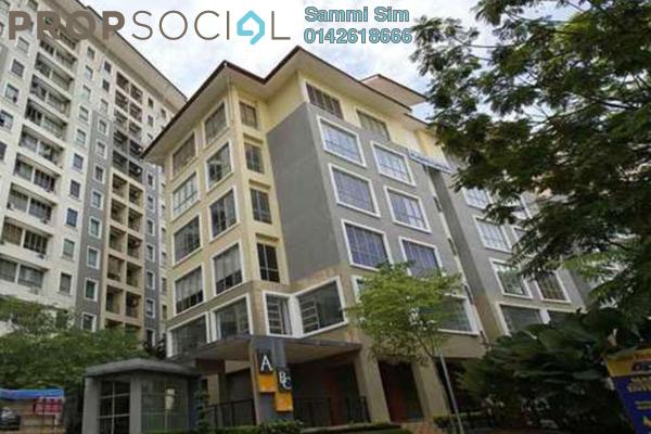 For Rent Condominium at Ritze Perdana 1, Damansara Perdana Leasehold Semi Furnished 0R/1B 1.1k