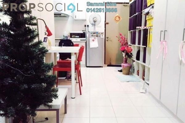 For Rent Condominium at Ritze Perdana 1, Damansara Perdana Leasehold Fully Furnished 0R/1B 1.3k