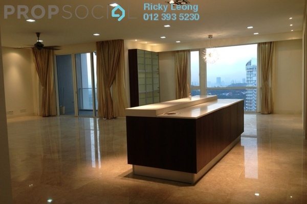 For Rent Condominium at One Menerung, Bangsar Freehold Semi Furnished 3R/3B 11.0千