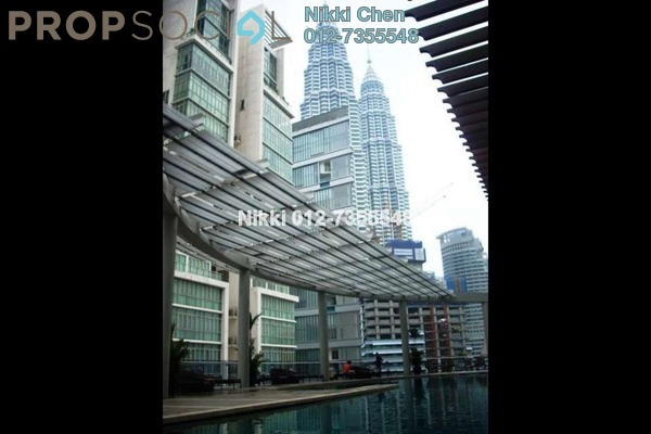For Sale Condominium at Kirana Residence, KLCC Freehold Semi Furnished 3R/4B 2.9百万