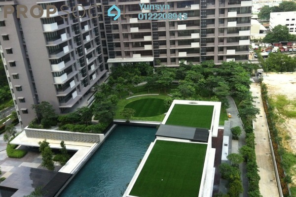 For Sale Condominium at Azelia Residence, Bandar Sri Damansara Freehold Semi Furnished 2R/2B 680k