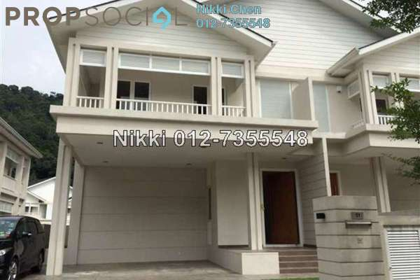 For Rent Bungalow at Serene Kiara, Mont Kiara Freehold Semi Furnished 5R/6B 15k