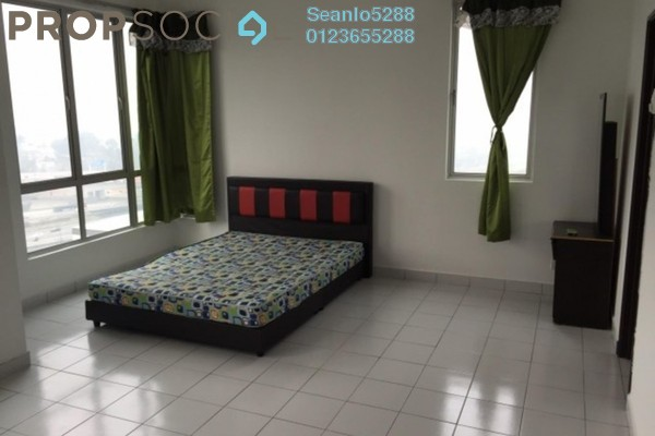 For Rent SoHo/Studio at Casa Tiara, Subang Jaya Freehold Semi Furnished 0R/1B 1.4k