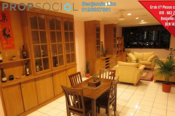 For Sale Condominium at Setapak Ria Condominium, Setapak Freehold Semi Furnished 3R/2B 420k