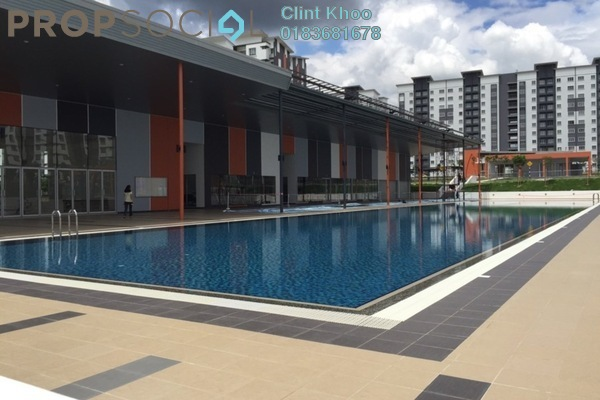 For Sale Apartment at Seri Kasturi, Setia Alam Freehold Unfurnished 3R/2B 340k