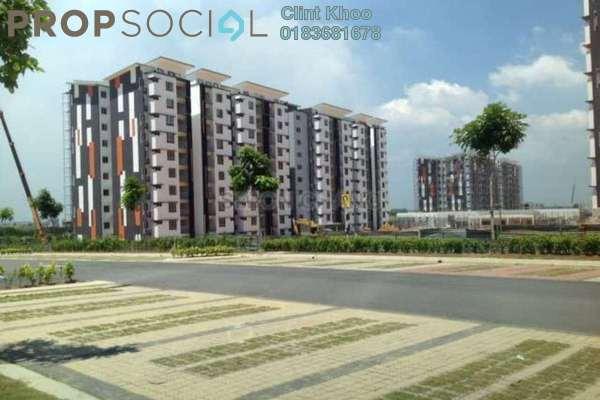 For Rent Apartment at Seri Kasturi, Setia Alam Freehold Semi Furnished 3R/2B 850translationmissing:en.pricing.unit