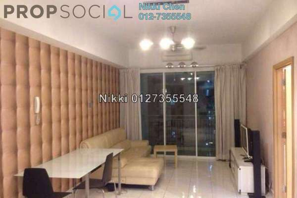 For Rent Condominium at Casa Suites, Petaling Jaya Freehold Semi Furnished 2R/1B 2.5千