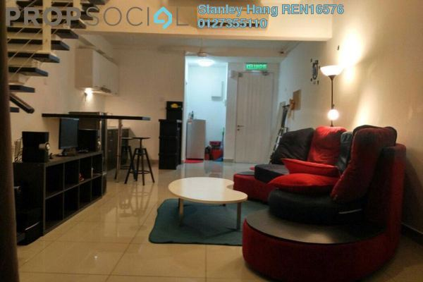 For Rent Duplex at The Scott Soho, Old Klang Road Freehold Fully Furnished 1R/1B 2.2k