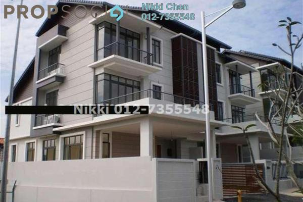 For Rent Semi-Detached at Serene Kiara, Mont Kiara Freehold Semi Furnished 5R/6B 14.5k