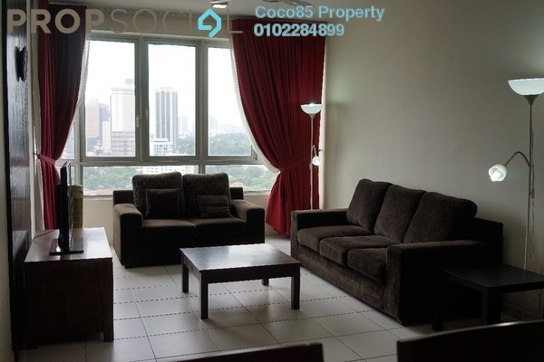 For Sale Condominium at The Tamarind, Sentul Freehold Fully Furnished 3R/2B 680k