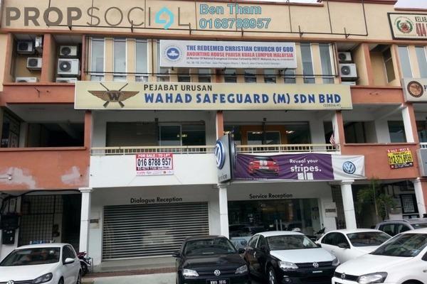 For Sale Shop at Taman Cuepacs, Batu 9 Cheras Freehold Unfurnished 0R/6B 5m