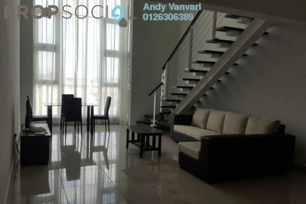 For Sale SoHo/Studio at The Scott Garden, Old Klang Road Freehold Fully Furnished 1R/2B 500k