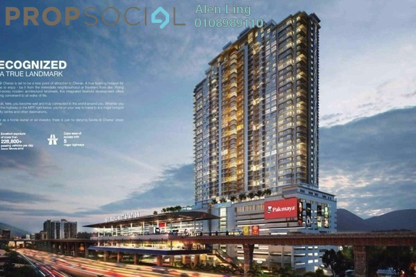 For Sale Condominium at Saville @ Cheras, Cheras South Freehold Semi Furnished 3R/3B 688k