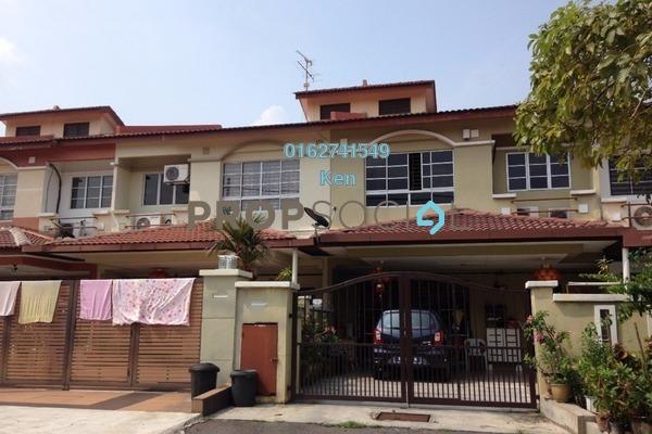 For Sale Terrace at Taman Damai Utama, Bandar Kinrara Leasehold Semi Furnished 5R/4B 750k