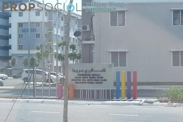 For Rent Apartment at Alam Nusantara, Setia Alam Freehold Unfurnished 3R/1B 650translationmissing:en.pricing.unit