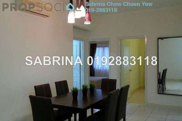 For Rent Condominium at Casa Kiara I, Mont Kiara Freehold Fully Furnished 3R/3B 3.1k