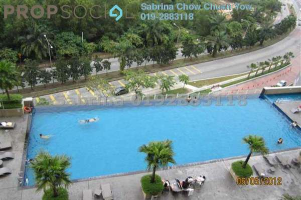 For Rent Condominium at The Park Residences, Bangsar South Leasehold Semi Furnished 3R/2B 3.6k