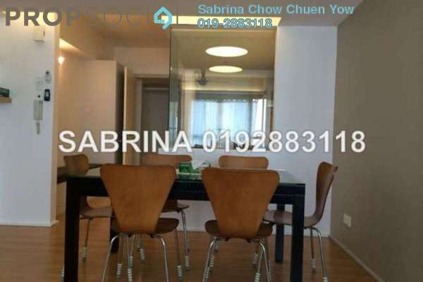 For Rent Condominium at i-Zen Kiara I, Mont Kiara Freehold Fully Furnished 2R/1B 3.6k