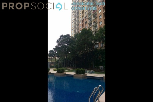 For Sale Serviced Residence at Perdana Emerald, Damansara Perdana Leasehold Fully Furnished 3R/2B 600k